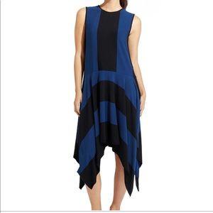 Athleta Derek Lam Stripe Fluid Dress Handkerchief